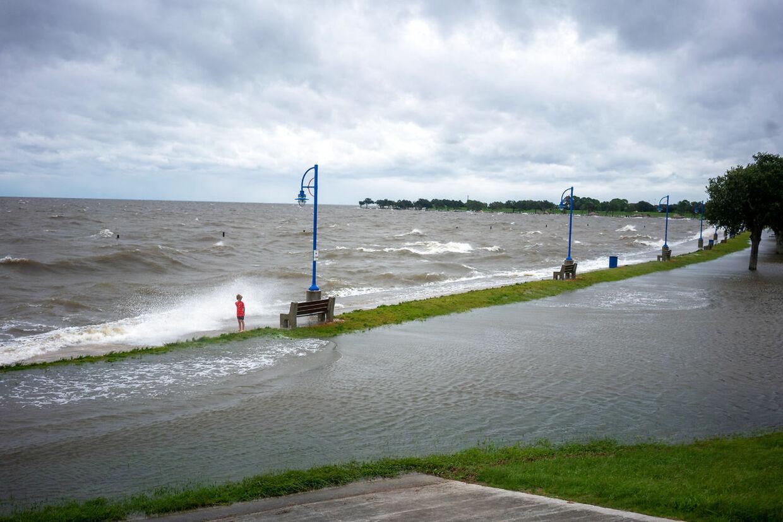 Oversvømmelser rammer også i de nærliggende stater - her i Louisiana.