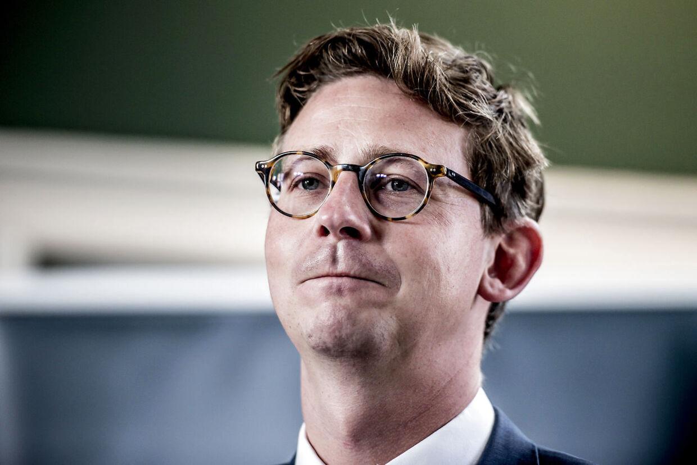 Karsten Lauritzen (V) var skatteminister i 2015-2019.