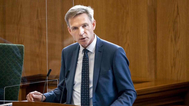 Kristian Thulesen Dahl (DF) taler under afslutningsdebat i Folketinget på Christiansborg i København, mandag den 22. juni 2020.