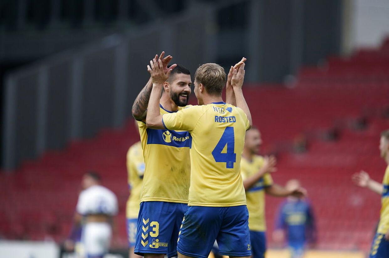 FC København møder Brøndby IF i Superligaen i en kamp spillet i Parken, København, søndag den 20. september 2020.