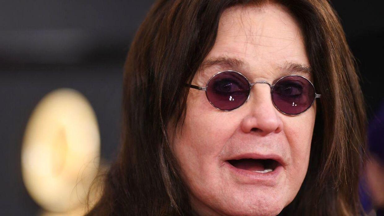 Ozzy Osbourne ved Grammy-uddelingen i 2020.