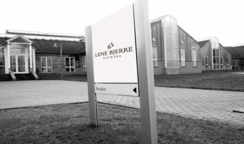 Lene Bjerre Design er på randen af konkurs, viser det seneste årsregnskab.