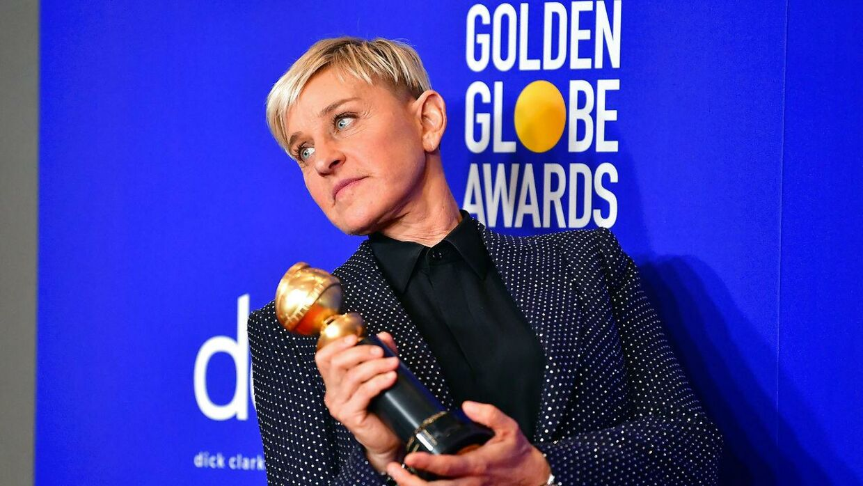 Ellen DeGeneres undskylder nu for et dårligt og racistisk arbejdsmiljø. (Arkivfoto).