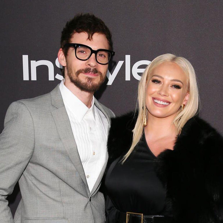 Hilary Duffs mand, Matthew Koma, gar nu sin kones navn på balden, afslører han. (Arkivfoto).