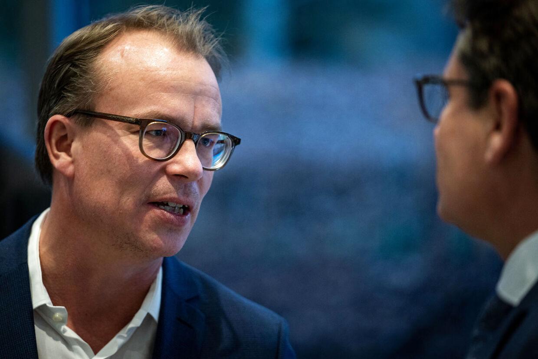 Statsministeriets stabschef, Martin Rossen, under mødet om regeringens klimapartnerskaber med erhvervslivet, på Marienborg onsdag 13. november 2019. (Foto: Niels Christian Vilmann/Ritzau Scanpix)