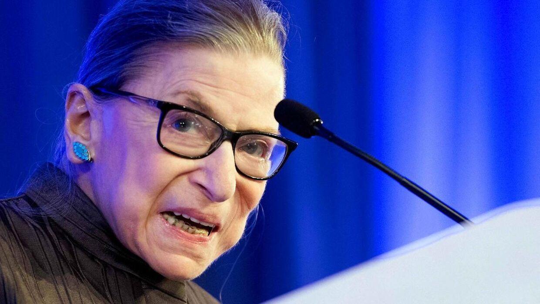 Højesteretsdommer Ruth Bader Ginsburg blev 87 år.