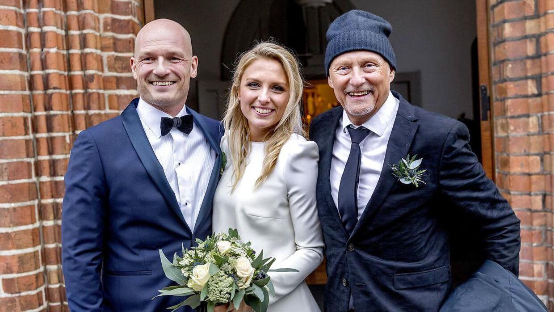 Josefine Høgh og Lasse Sjørslev blev gift i december 2019.