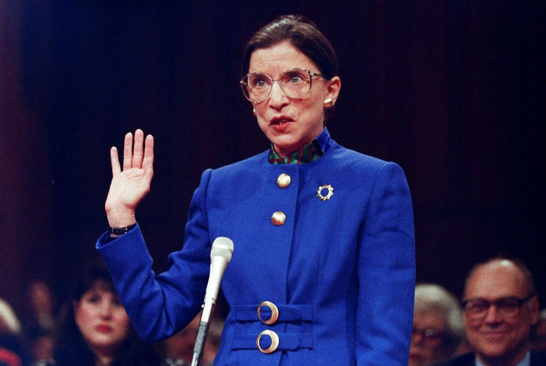 Højesteretsdommer Ruth Bader Ginsburg blev 87 år. I 1993 blev hun udpeget af Bill Clinton.