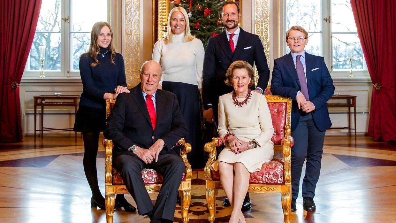 Den norske kongefamilie.