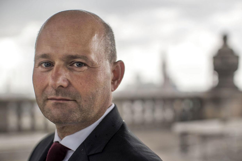 Leder af Det Konservative Folkeparti Søren Pape raser nu mod Mette Frederiksen og hendes valgløfte om tidligere pension til nedslidte. Han kalder det et blufnummer (Foto: Søren Bidstrup/Ritzau Scanpix)