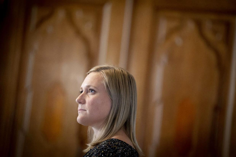 Eva Flyvholm (EL) ønsker at tage sagen op i ministeriet (Foto: Mads Claus Rasmussen/Ritzau Scanpix)