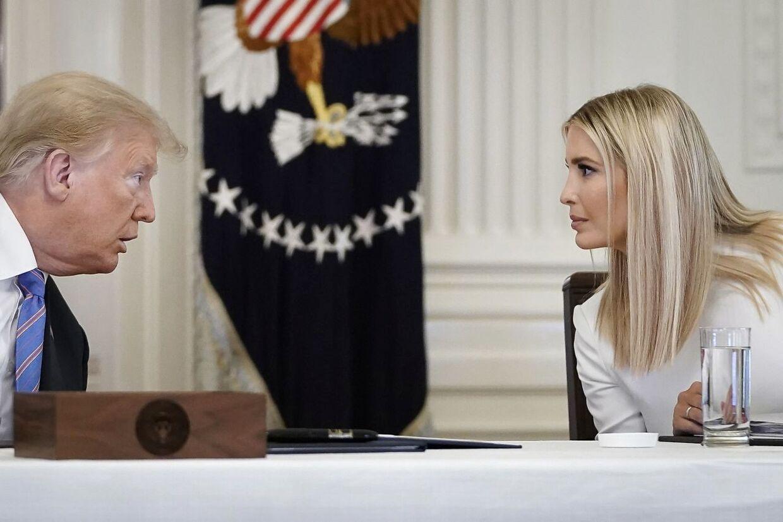 Donald Trump spørger sin datter og personlige rådgiver, Ivanka til råds.