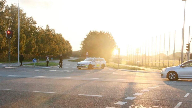 Sydskellet i Høje Taastrup er tirsdag morgen spærret mellem Vejtoften og Taastrup Hovedgade på grund af politiarbejde.