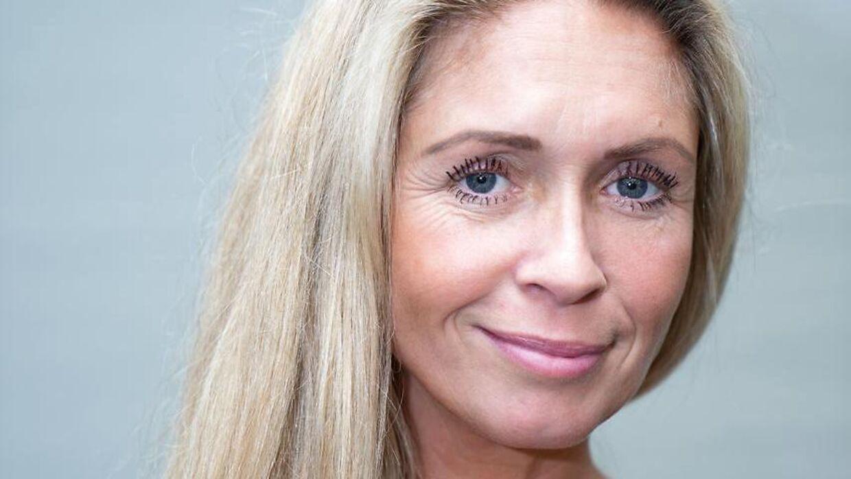 Karina Frimodt til 'Vild med dans' pressemøde i København, tirsdag den 8. september 2020. (Foto: Emil Helms/Ritzau Scanpix)