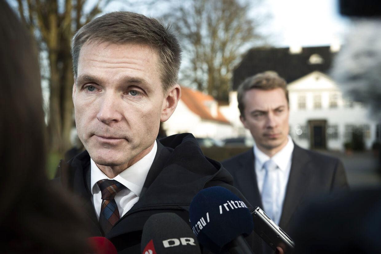 Morten Messerscmidt står klar i kulissen, hvis Thulesen må trække sig(Foto: Jens Nørgaard Larsen/Scanpix 2015)