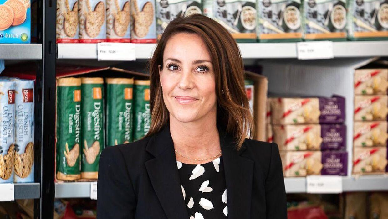 Prinsesse Marie åbnede tirsdag som protektor for Folkekirkens Nødhjælp en Wefood-butiken i Tingbjerg so