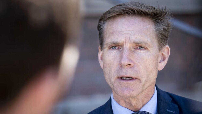 Dansk Folkepartis formand Kristian Thulesen Dahl.