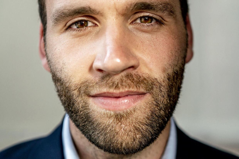 Bjørn Brandenborg - 27-årige nyvalgt socialdemokrat , der fik et kanonvalg på Sydfyn og øerne.