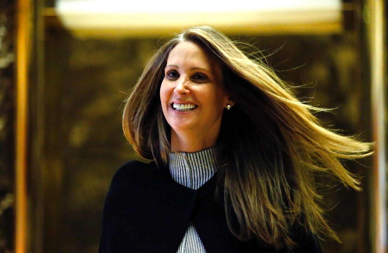 Stephanie Winston Wolkoff arbejdede for Trump-parret i flere år. Her ses hun i Trump Tower tilbage i 2016. (Arkivfoto)