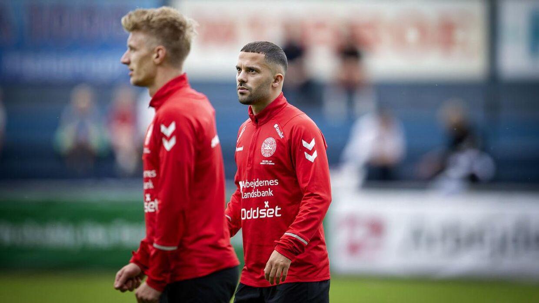 Durmisi var senest udtaget til det danske landshold i juni 2019.