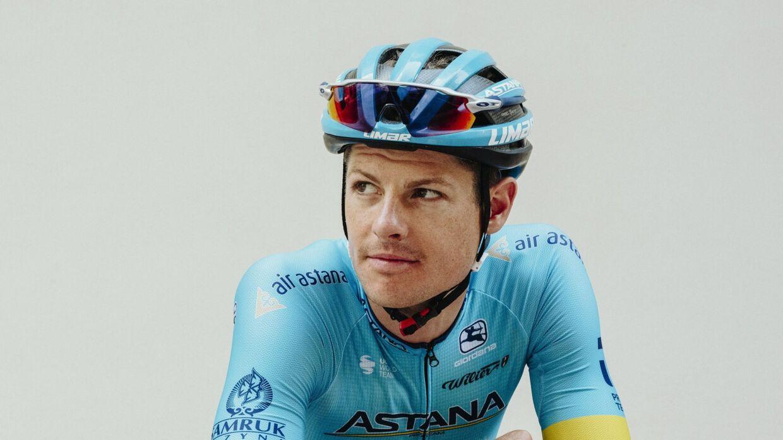 Den danske Astana-rytter Jakob Fuglsang.