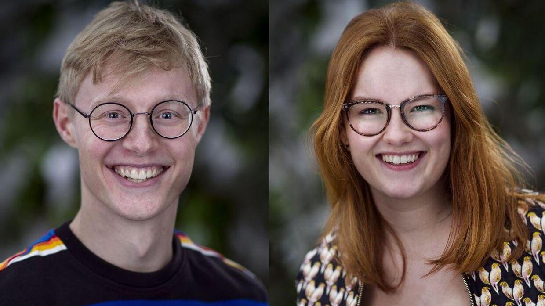 Emil og Caroline.