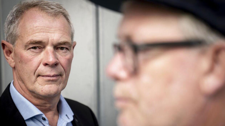 Jens Møller og Søren Malling (forgrunden)