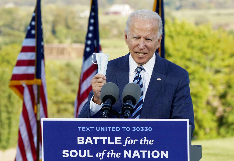 Demokraternes præsidentkandidat, Joe Biden.