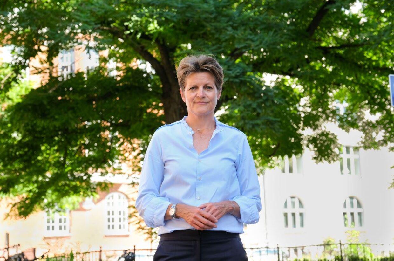Lægeforeningens formand, Camilla Rathcke, er stærkt utilfeds med, at regeringen ikke får nedbragt de årelange ventertid for udenlandske læger, der bor i Danmark. Foto: Jesper Schwartz.