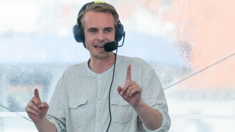 Arkivfoto af P1-værten Mads Aagaard Danielsen, der nu er blevet afskediget fra DR.