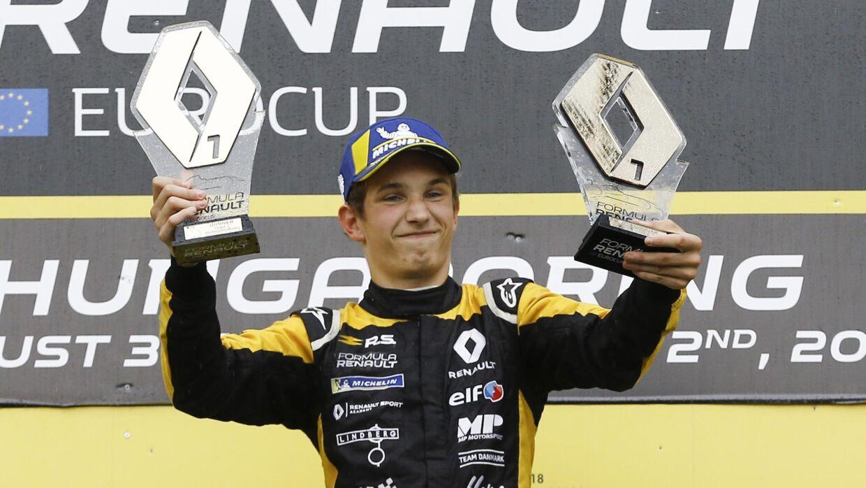 Danske Christian Lundgaard er i spil til en eller flere testdage hos Renault i en af teamets Formel 1-racere. (arkivfoto - pressebillede)