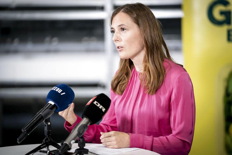 Katrine Robsøe (R) blev valgt til Folketinget i 2019. I 2015-2016 var hun personlig assistent for MF'er Andreas Steenberg. (Foto: Mads Claus Rasmussen/Ritzau Scanpix)