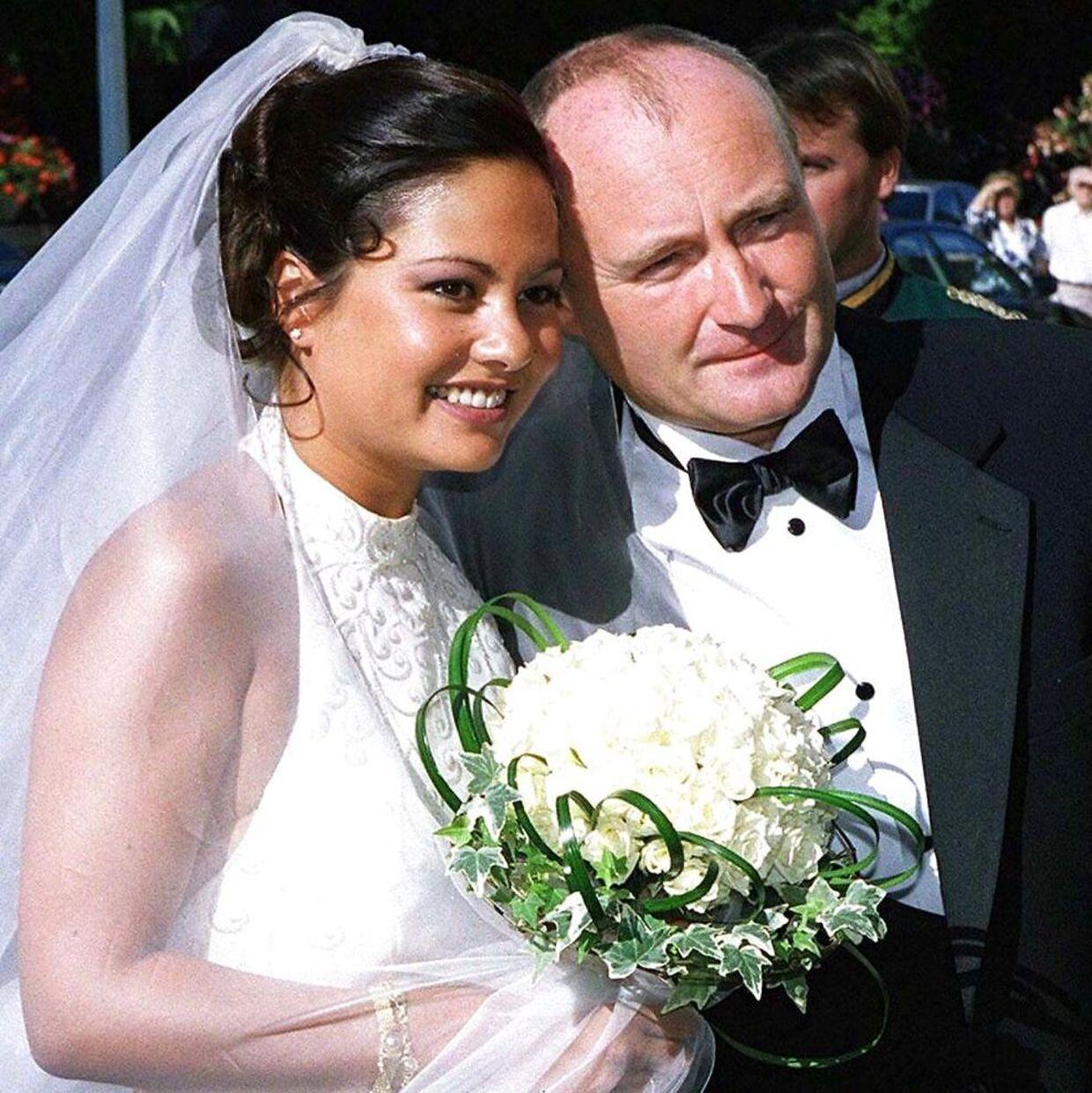 Parret blev gift i 1999.