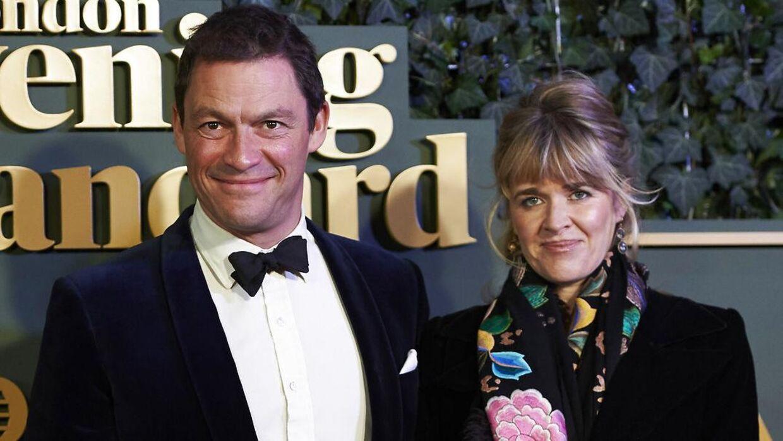 Dominic West og Catherine Fitzgerald.