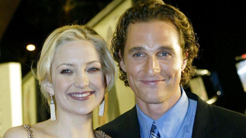 Kate Hudson føler ikke, hun har været heldig i sine kyssescener med Matthew McConaughey.