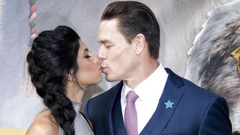 Shay Shariatzadeh og John Cena har flere gange vist kærligheden frem på den røde løber.
