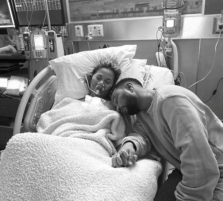 Chrissy Teigen og John Legend.