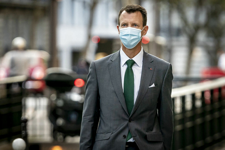 Prins Joachim starter på nyt job som forsvarsattaché på Den Danske Ambassade i Paris, fredag den 18. september 2020.. (Foto: Mads Claus Rasmussen/Ritzau Scanpix)