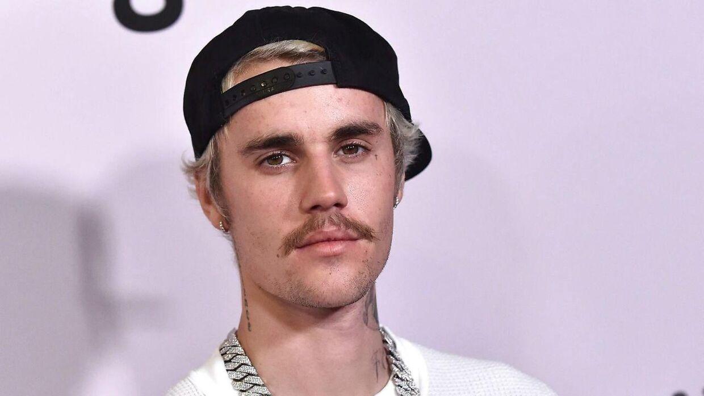 Justin Bieber fotograferet i januar.