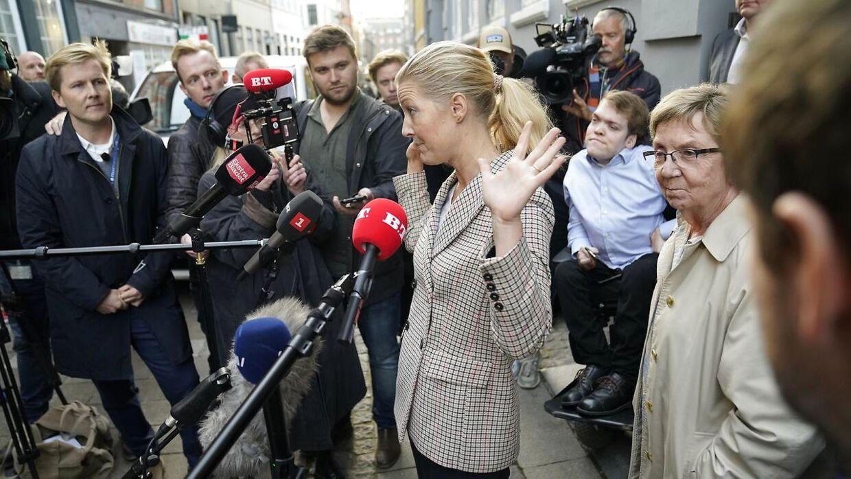Det Radikale Venstre holder krisemøde i København søndag 18. oktober 2020.