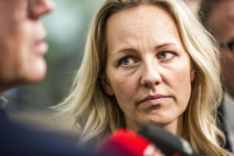 Ida Auken har i et halvt år været sygemeldt med stress. Hun har dog blandet sig indgående i krisen hos Det Radikale Venstre, hvor Auken har anklaget Sofie Carsten Nielsen for at tale usandt. (Foto: Ólafur Steinar Rye Gestsson/Ritzau Scanpix)
