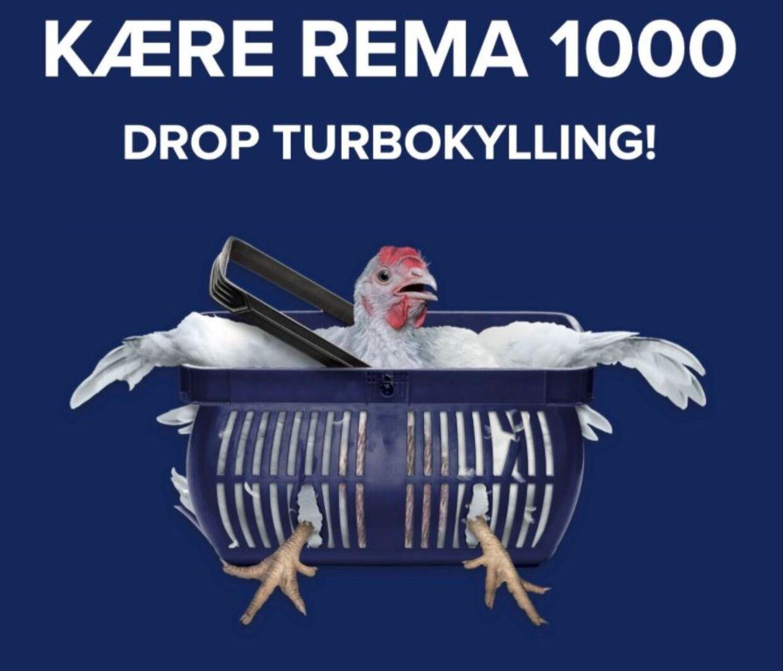 Den øverste del af Animas reklamekampagne mod Rema 1000.
