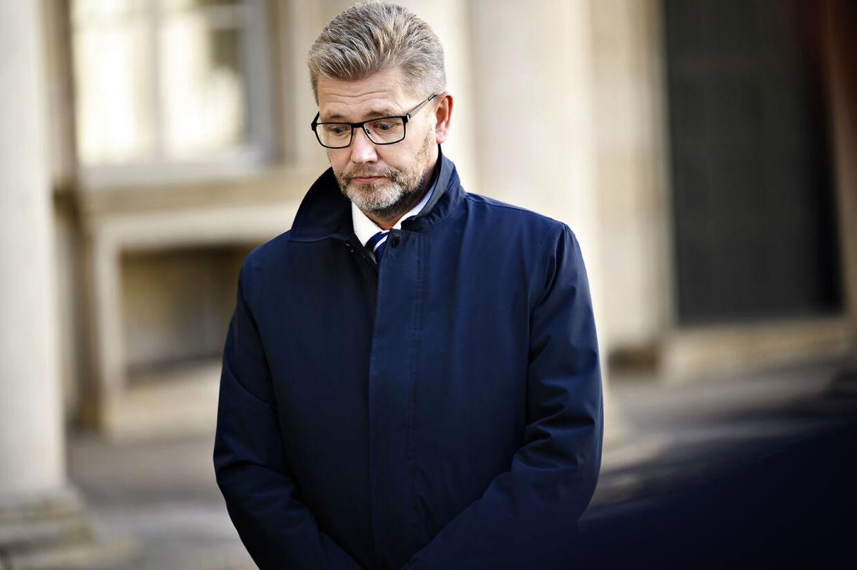 (ARKIV) Overborgmester Frank Jensen holder pressemøde om corona-situationen i København på Politigården i København torsdag 17. september 2020. Frank Jensen kan indtil videre fortsætte som overborgmester, mens hans krænkelsessager undersøges. Mette Frederiksen opfordrer krænkede til at stå frem. Det skriver Ritzau mandag 19. oktober 2020. (Foto: Philip Davali/Ritzau Scanpix)