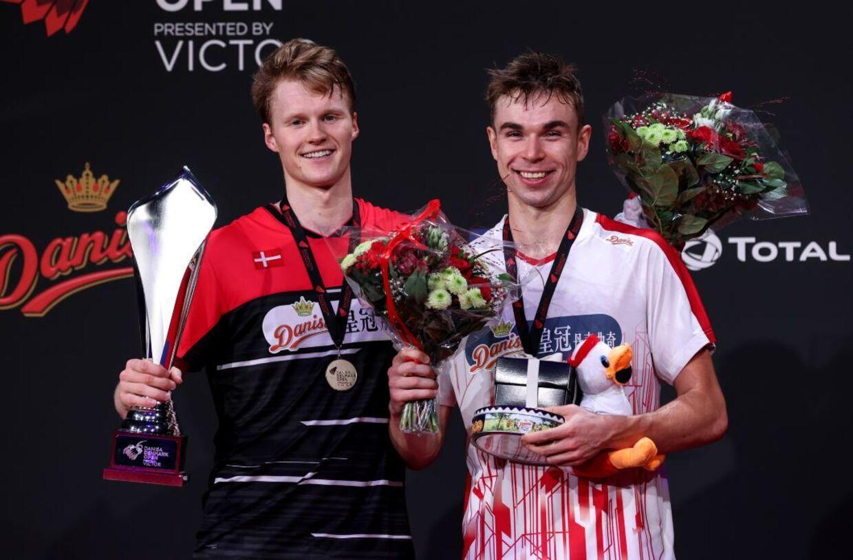 Antonsen og Gemke efter finalen.