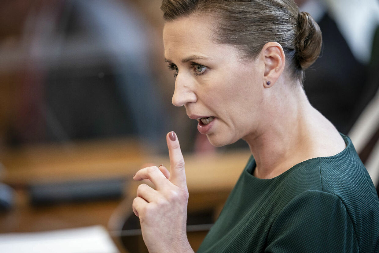 Statsminister Mette Frederiksen (S).