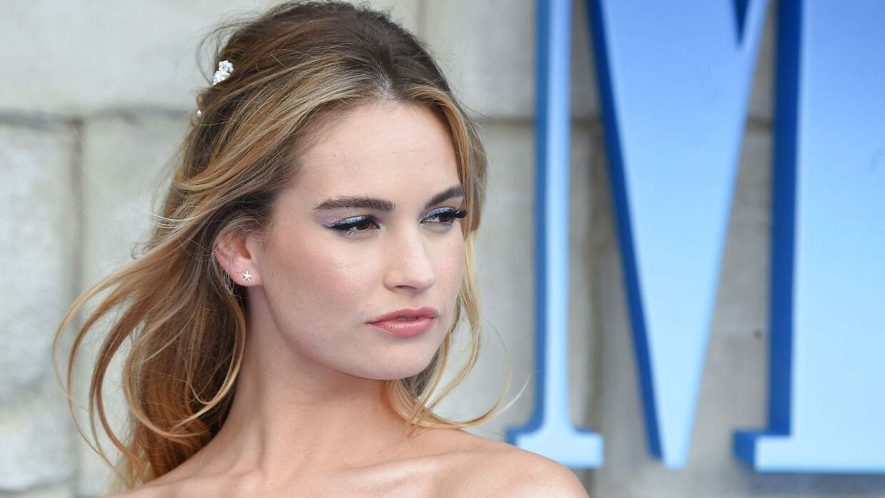 Lily James.