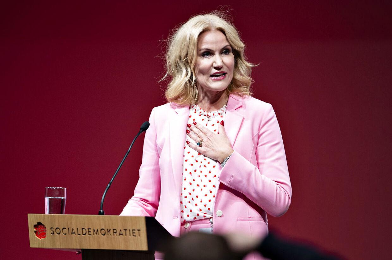 Tidligere S-formand og statsminister Helle Thorning-Schmidt.