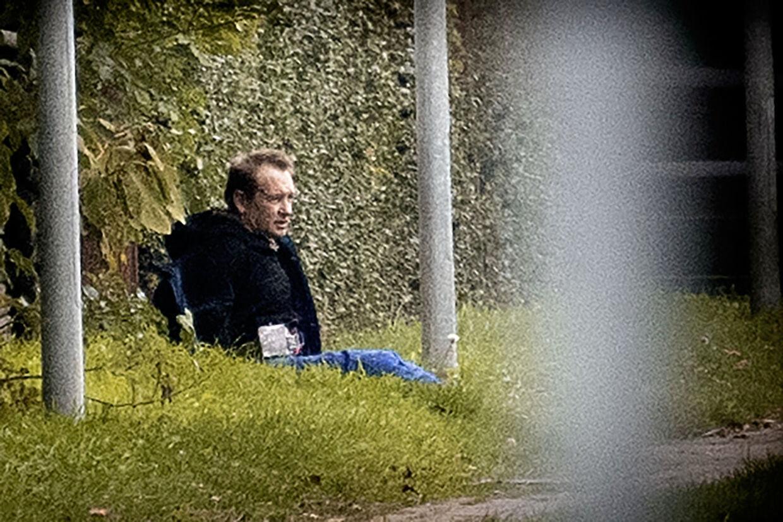 Politiaktion i Albertslund tirsdag 20. oktober 2020. Politiet har anholdt en person i sag om forsøg på fangeflugt. Personen er den drabsdøbte Peter Madsen. Albertslund, tirsdag 20. oktober 2020.