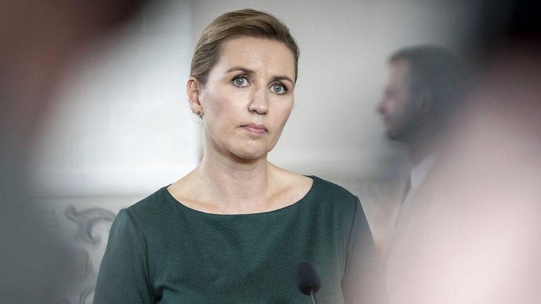 Arkivfoto af statsminister Mette Frederiksen (S).