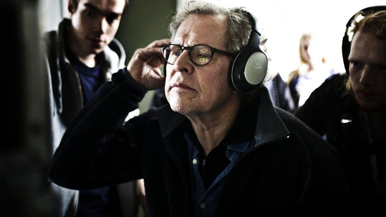Søren Kragh-Jacobsen under optagelserne til filmen 'I lossens time'.